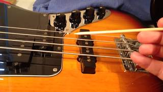 Removing the Active Boost Circuit from a Squier Jaguar Bass