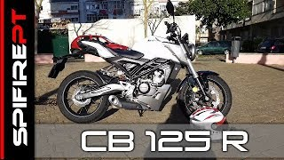 Honda CB 125R - TestDrive & Review