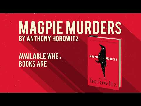 Anthony Horowitz discusses his new novel MAGPIE MURDERS