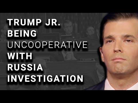 Trump Jr Won't Answer Questions Re: Trump Involvement w/Russians