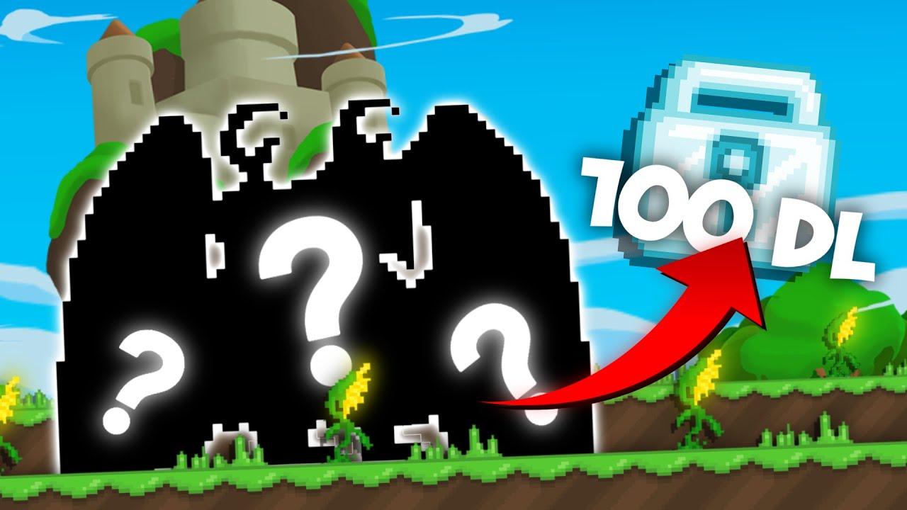 100 DIAMOND LOCK'A SET YAPTIM! │Growtopia Türkçe