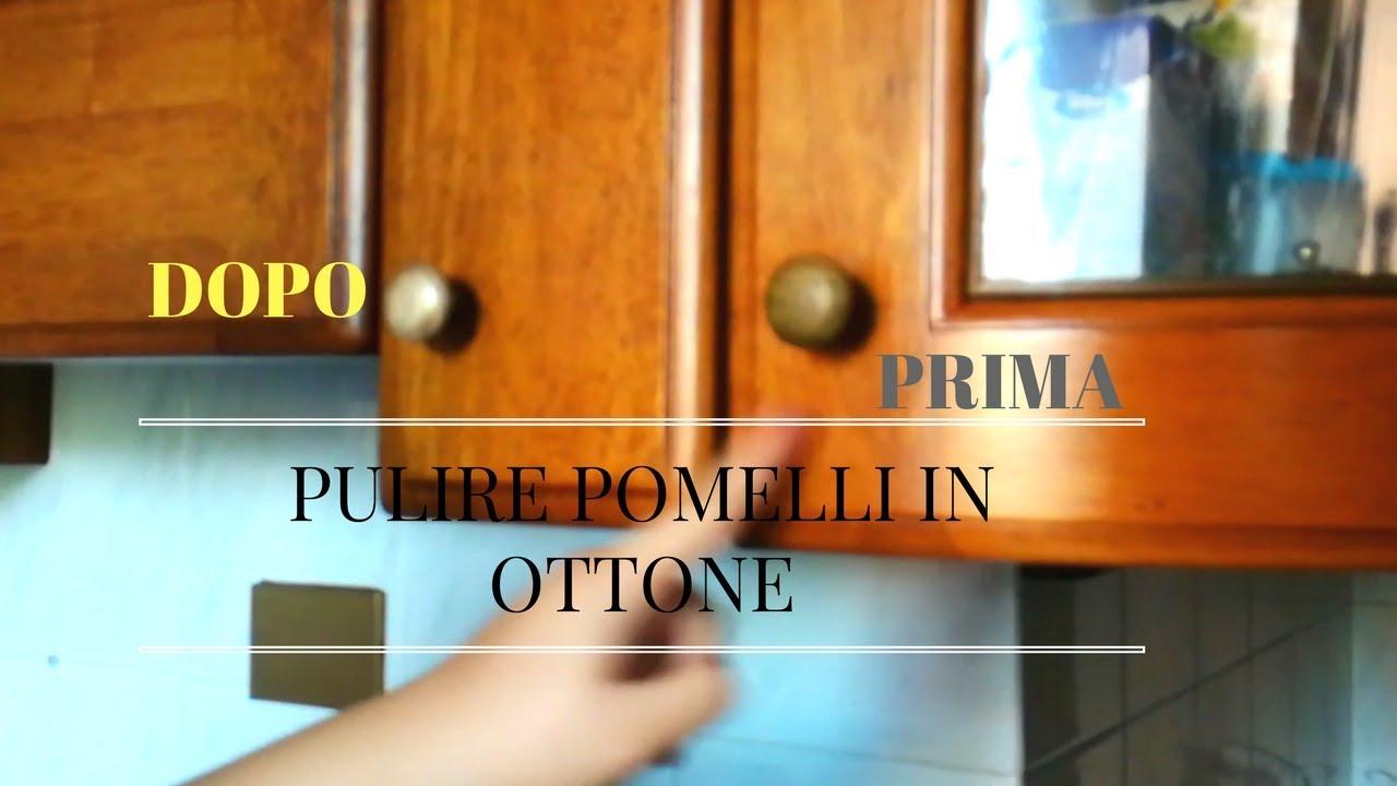 PULIRE I POMELLI IN OTTONE CON METODO NATURALE