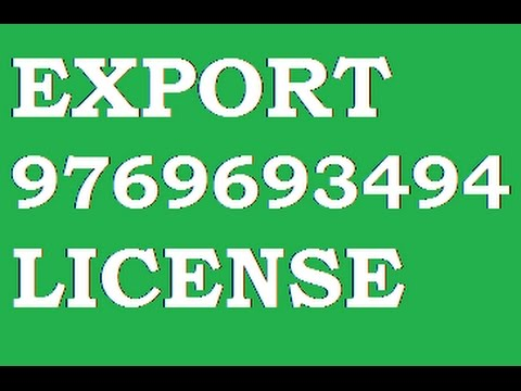 IMPORT EXPORT LICENSE 8286954450 IEC CODE, EXPORT LICENSE , IMPORT LICENSE