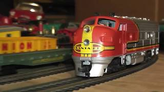 ho vintage nice athearn santa fe passenger diesel f7a super geared video box sf