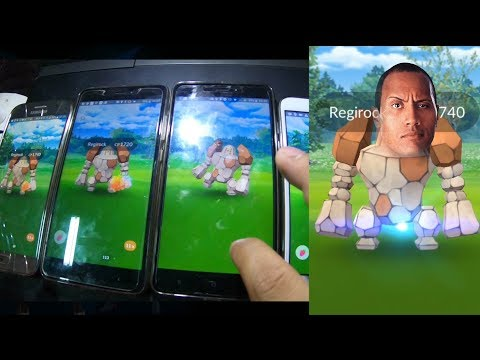 New Legendary Raid Regirock in Pokemon Go! How to multiple catch a Tier 5 raid boss