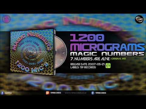 1200 Micrograms - Numbers Are Alive