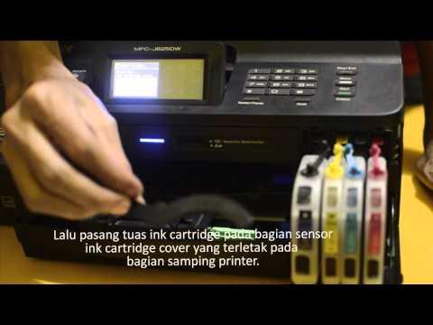 Cara Pasang Infus Pada Printer Brother