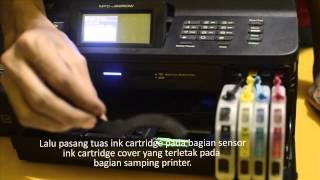 Cara Pasang Infus Pada Printer Brother | AMAZiNKPRINT.COM
