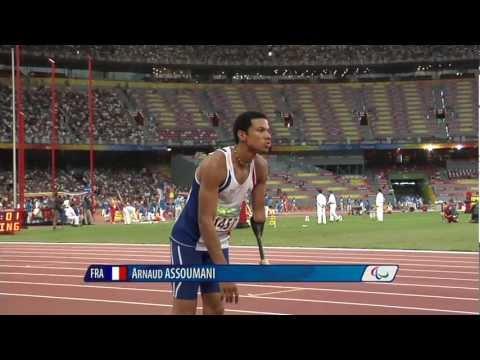 Men's Long Jump F46 - Beijing 2008 Paralympic Games