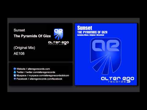 Sunset - The Pyramids of Giza [Alter Ego Records]