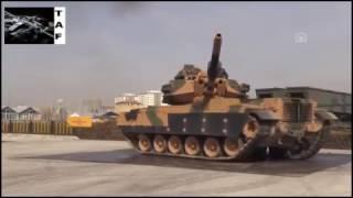Fırat Kalkanı  Operasyonlarda isabet almış tank ve zpt'ler.