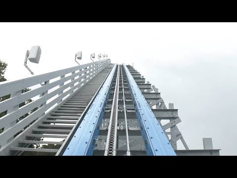 VIDEO: What it's like to rides Six Flags Over Georgia's Twisted Cyclone