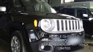 JEEP RENEGADE 1.6 MJT 120 CV LIMITED IMPRESSIONE AUTO PRESSO CONCESSIONARIA HEAVEN AUTO REGGELLO FI