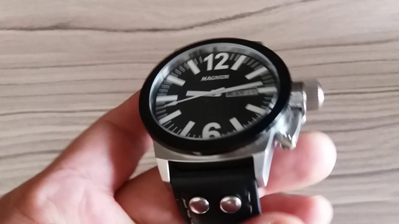 7061deefbdd Relógio Magnum MA31533T - YouTube