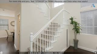 Priced at $559,900 - 139 Alicia Way, Oceanside, CA 92057