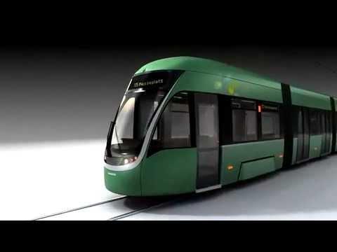 Flexity Basel Das Neue Tram Der Bvb Basler Verkehrs