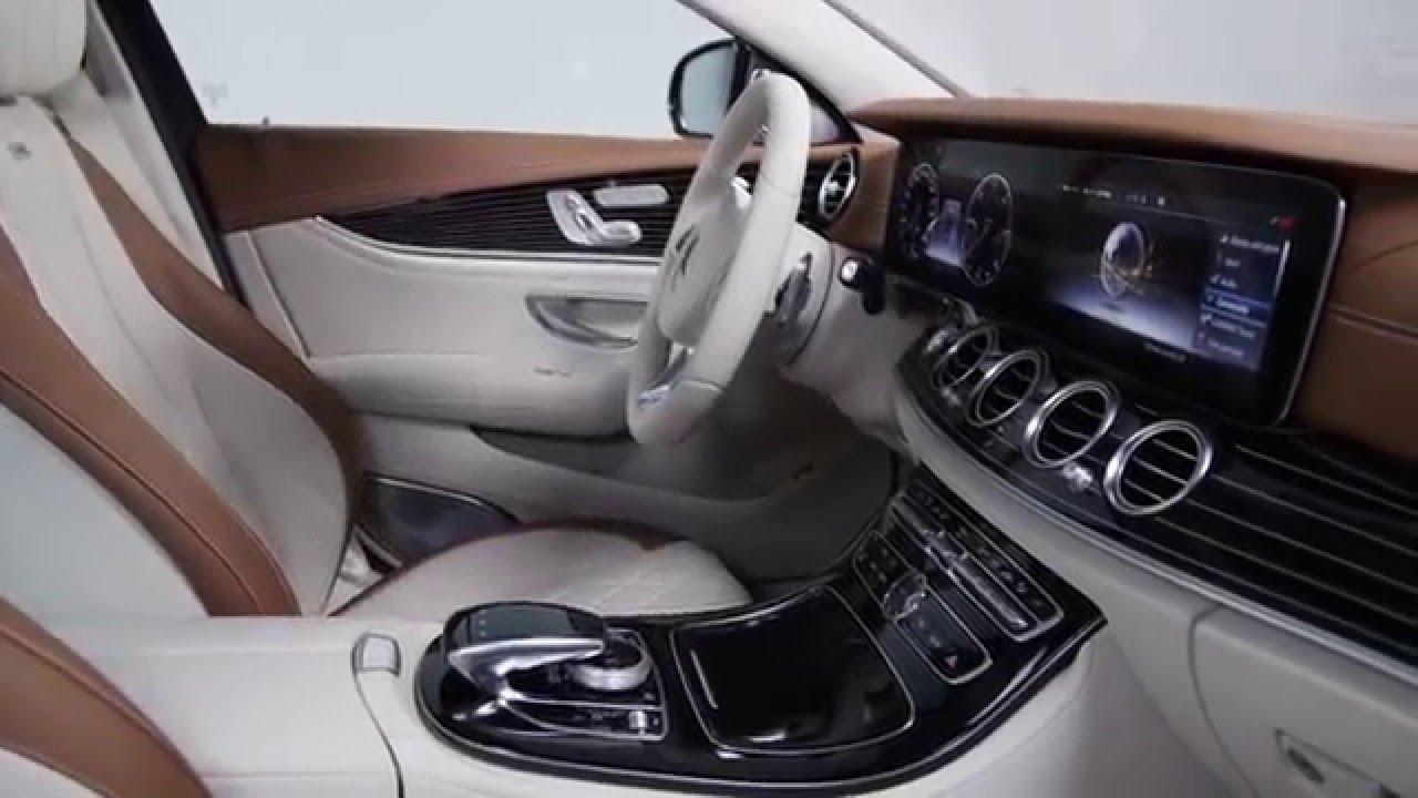 Mercedes benz espa a interior del nuevo clase e berlina for Interior mercedes clase a