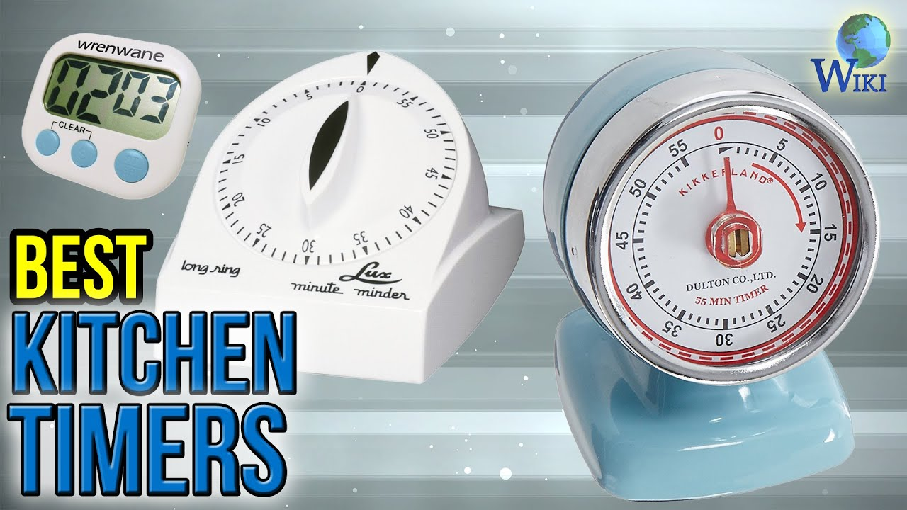 10 Best Kitchen Timers 2017 - YouTube