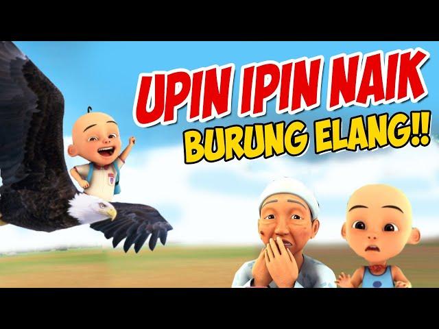 Upin Ipin Naik Burung Elang Ipin Senang Gta Lucu Youtube