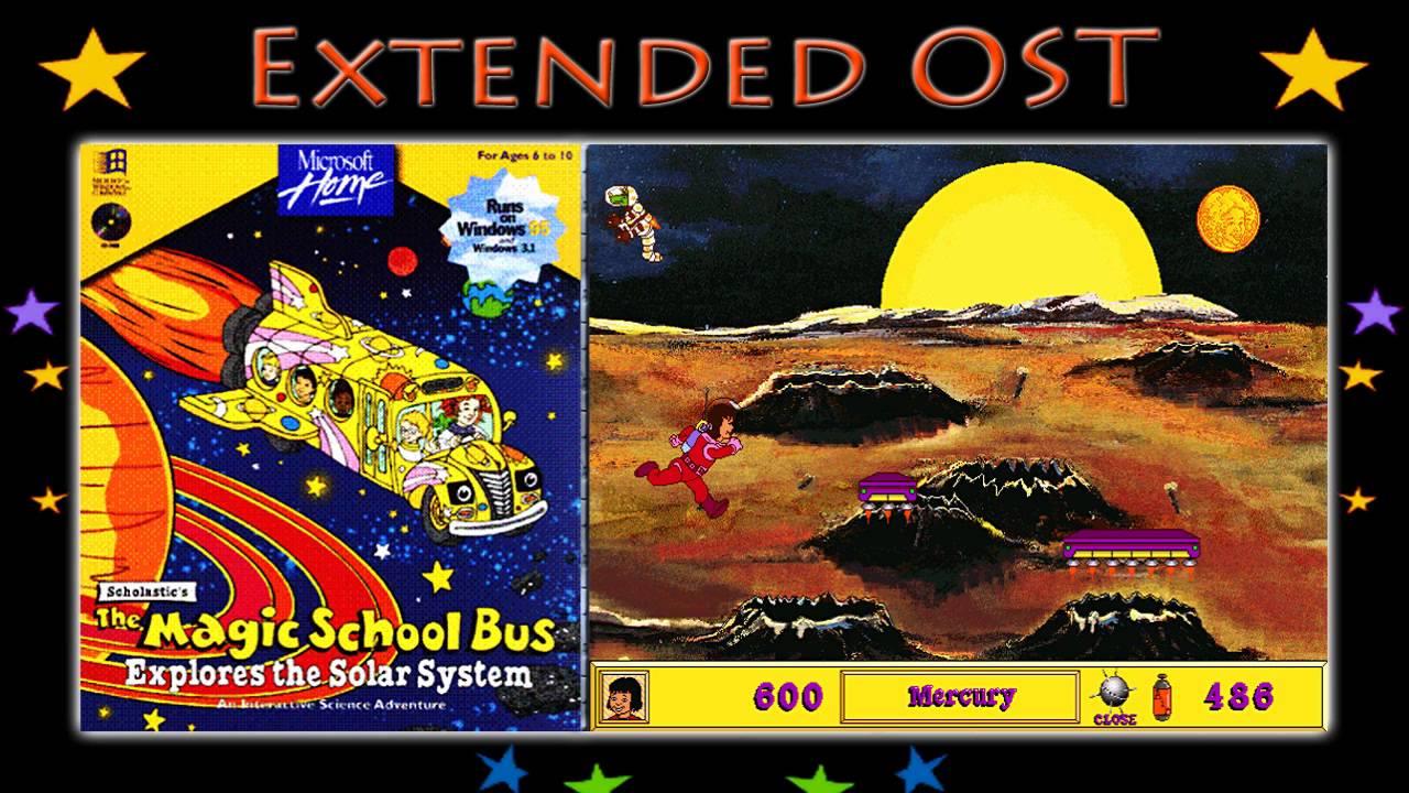 Mercury Planet Magic School Bus - Pics about space