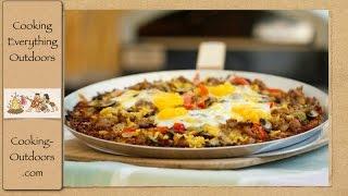 Potato Crust Breakfast Pizza Recipe