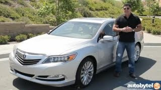 2014 Acura RLX Text Drive & Luxury Car Video Review