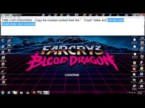 How to install Farcry3 Blood Dragon Cracked by RELOADED Pc (HD)