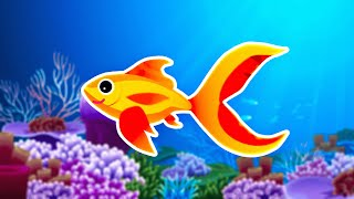 █▬█ █ ▀█▀ Dziecięce Przeboje - Ballada o złotej rybce (Nowy Teledysk)
