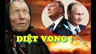 RÙNG MÌNH lời tiên tri của Vanga về chiến tranh Syria và sự SỤP ĐỔ của nước Mỹ