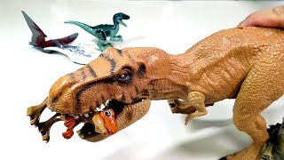 Jurassic World Lego Dinosaurus Toys collection / Toy Making / Toy Play