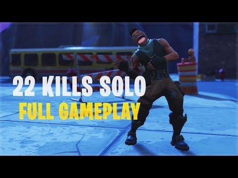 22 Kills Solo | Console - Fortnite Gameplay