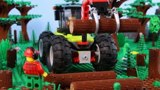 LEGO City Adventure (Compilation) STOP MOTION LEGO: Tractors, Vehicles, Clowns & More | Billy bricks