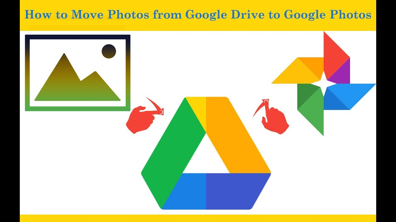 How To Move Photos From Google Drive To Google Photos