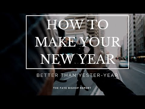 How To Keep Your New Year's Resolutions Ditch The 2017 Trends!