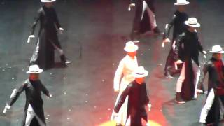 Andy Lau HK Unforgettable Concert 02.01.11 - Pose