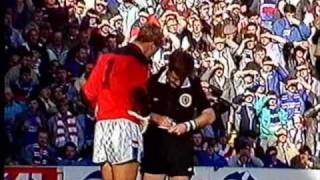 9-Man Rangers draw 2-2 with Celtic in 1987