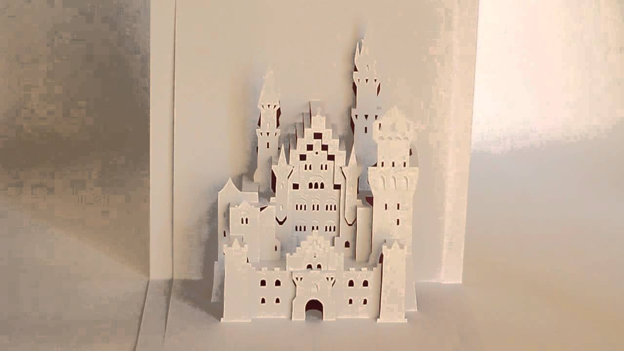 ORIGAMIC ARCHITECTURE NEUSCHWANSTEIN CASTLE YouTube