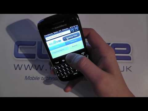 BlackBerry Bold 9790 Software Tour