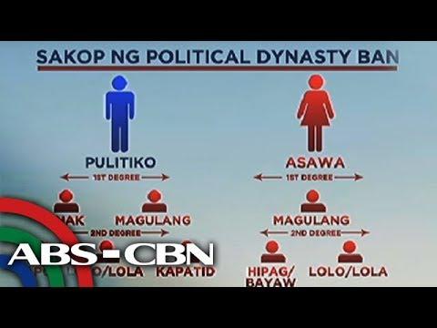 Bandila: Political dynasty sa panukalang konstitusyon, nais ipagbawal