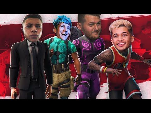 HILARIOUS SQUAD WIN W/ JORDAN FISHER, NINJA AND WILDCAT