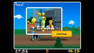 The Simpsons Movie: Wrecking Ball game