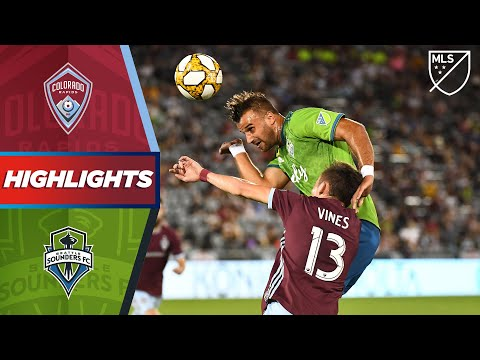 Colorado Rapids vs. Seattle Sounders FC | HIGHLIGHTS - Septe
