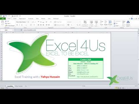 Open link in excel cell