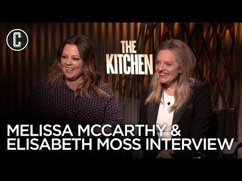 The Kitchen: Melissa McCarthy & Elisabeth Moss Interview