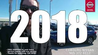 2018 Nissan Pathfinder SV AWD Review at Cobourg Nissan