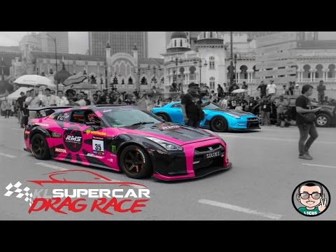KL Supercar Drag Race 2016 (Round 1)(Full Races) | L1CU5