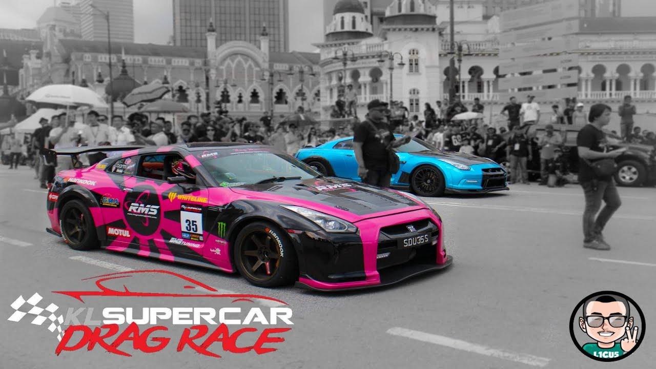 Kl Supercar Drag Race Round Full Races Youtube