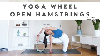 How To Use Yoga Wheel To Improve Hamstring Flexibility | Lydia Lim Yoga