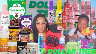 BALLIN ON A BUDGET⎮DOLLAR TREE NATURAL HAIR CARE PRODUCTS ⎮WE HIT THE MOTHERLOAD⎮99 CENTS ONLY STORE
