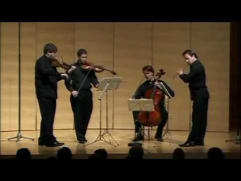 Mozart Flute Quartet in D Mvts 2-3
